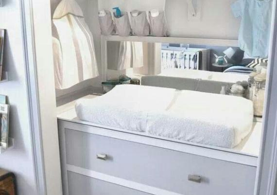 Coolest Changing Table Ever