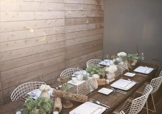 DIY Wood Pallet Wall and Outdoors Dinning Table Ideas