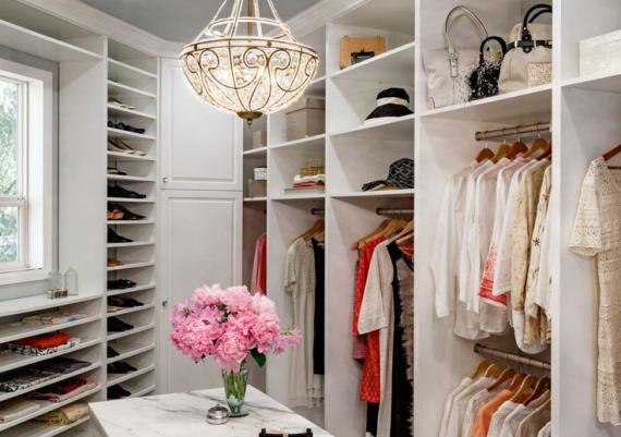 Elegant Decorating And Design Ideas For Luxury Closet Designs