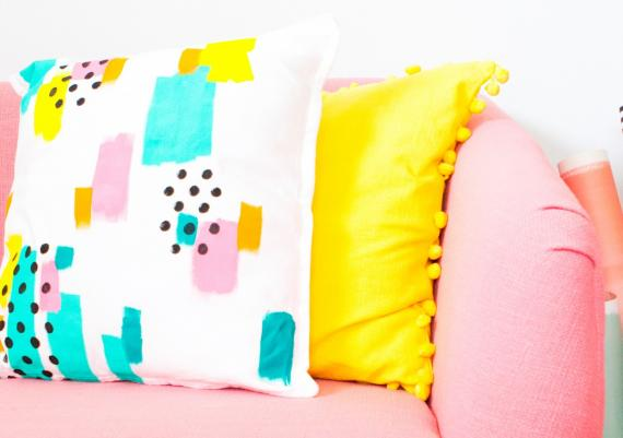 Decorative Colorful DIY Pillows For Your Home