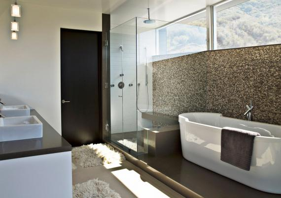 Beautiful Modern Bathroom Wallpaper Design