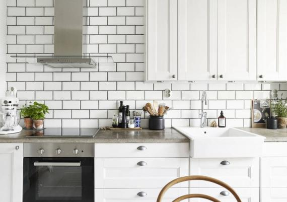Fabulous Modern With Rustiic Inspiration All White Kitchen