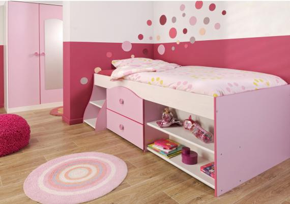 Fabulous Pink Kids Room Decor Color Idea