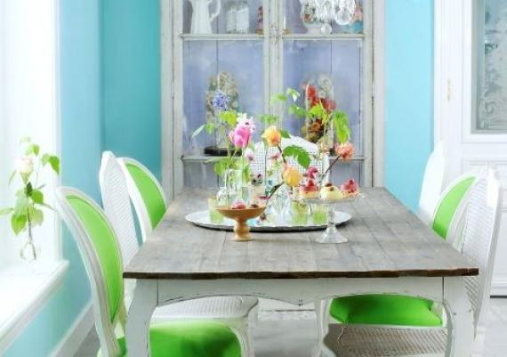 Gorgeous Green Chairs For Your Dining Room