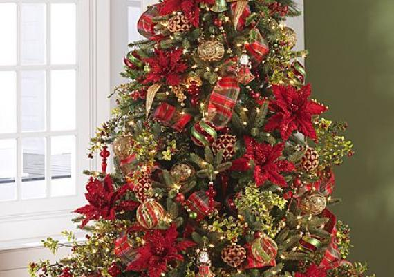 Gorgeously Decorated Christmas Trees