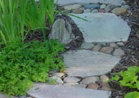 Great Idea For Garden Path In Front And Backyards