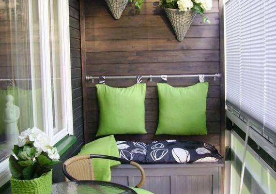 Great Idea For Refreshing Your Small Balcony