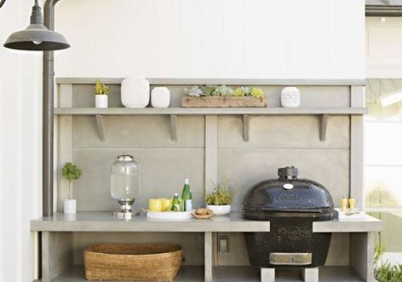 Great Outdoor Barbecue Idea For Your House