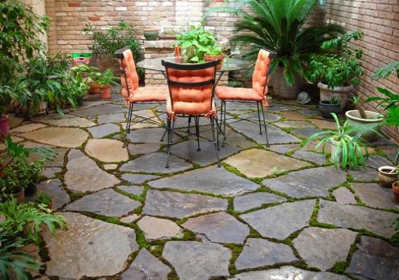 Great Stone Patio For Your Backyard