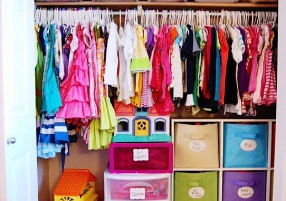 Ideas for Efficient Kids' Closets