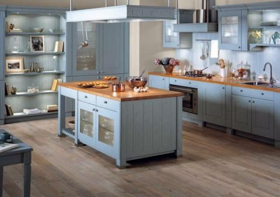 Inspirational Blue Kitchen Cabinets For Your Modern Home