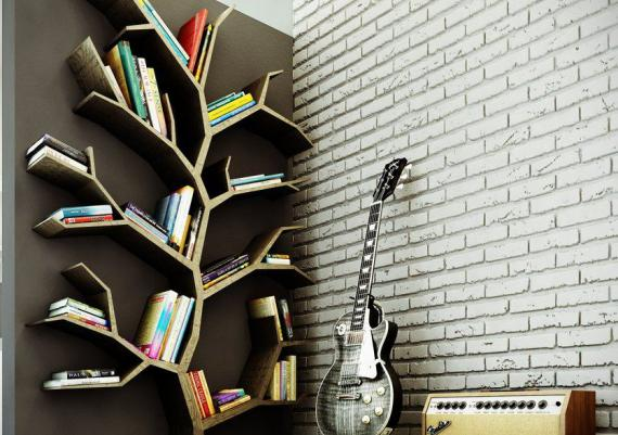 Inspirational Tree Bookshelves For Your Home Library
