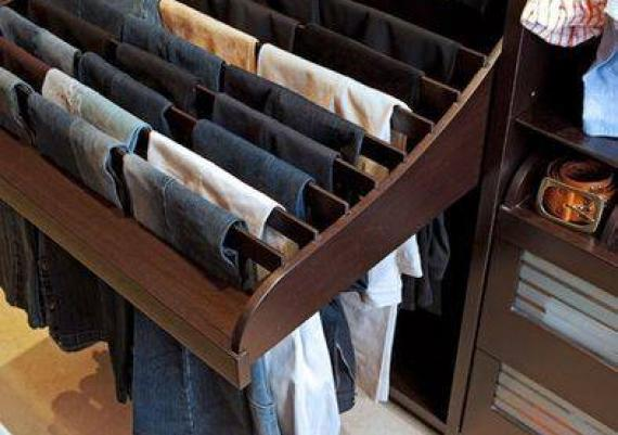 Interesting Closet Organization For Small Spaces