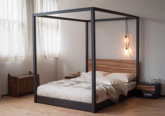 Stunning Modern Four Poster Bed Images
