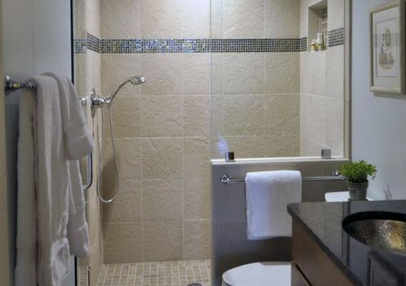 Modern Glass Shower For Small Bathrooms