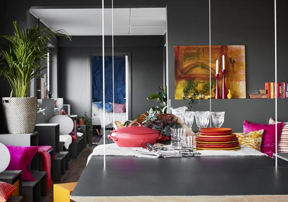 Modern Interior Design For Your Grey Walls Apartment
