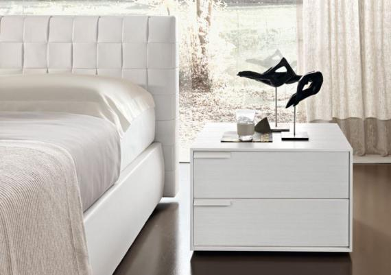 Contemporary White Nightstand Design Idea For Your Home