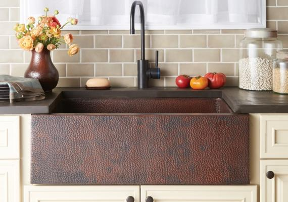 Rock Farmhouse Sink For Your Vintage Kitchen