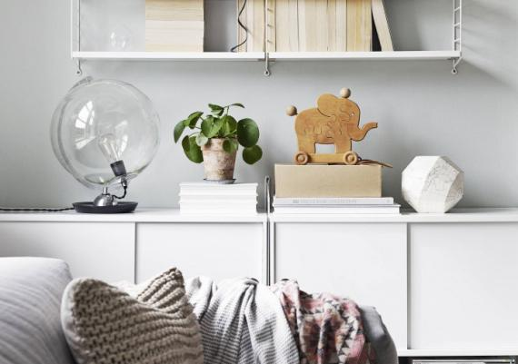 Rustic Accents For Your Modern Living Room