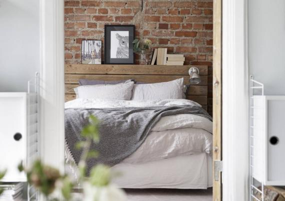 Rustic Accents Home Design Ideas For Bedroom