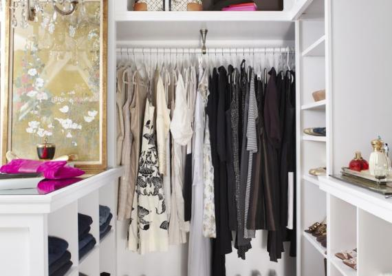 Small Walk In Fashionable Closet Ideas