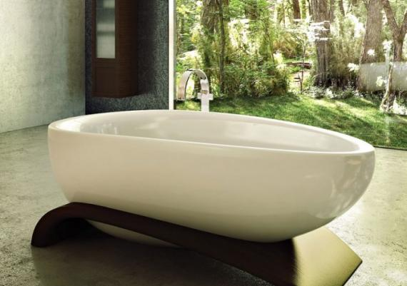 Relaxing Bath Experience Using Soaker Tubs Ideas