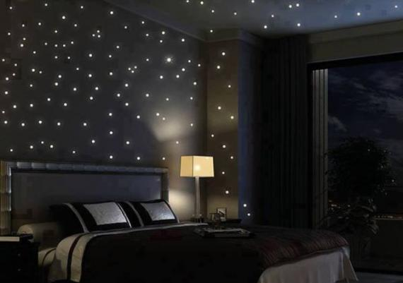 Starry Night Sky Bedroom Lighting