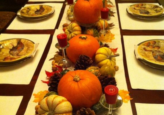 Thanksgiving Table Centerpieces Pictures And Wallpapers