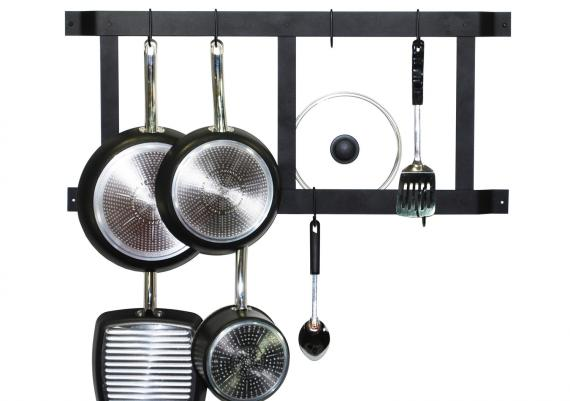 Ultimate Wall Mounted Pot Rack For Modern Organized Kitchen