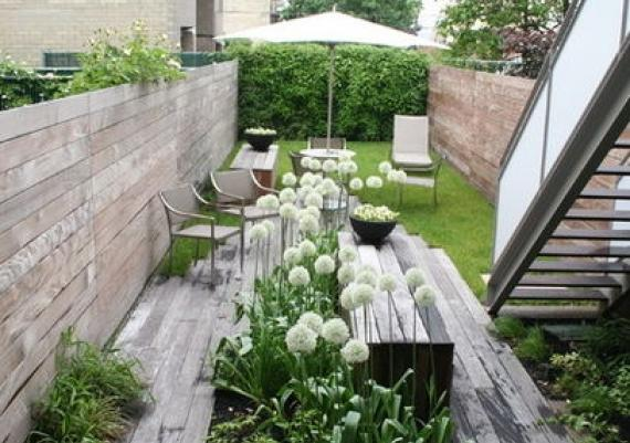 Very Narrow Modern Garden Ideas For Your Home