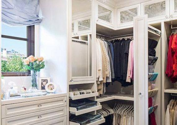 Walk In Closet Ideas Shelves and Drawers for Storage Design