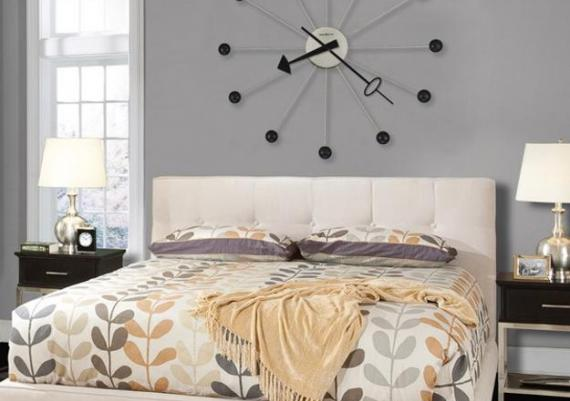 Wall Clock And Modern Wall Decorating Ideas