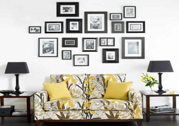 Wall Hangings For Living Room Picture Frame Ideas Picture