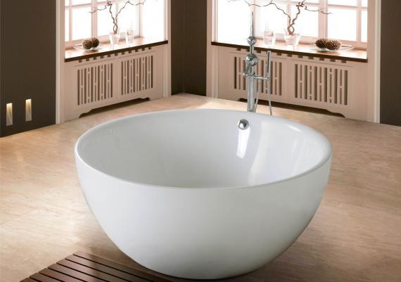 Relaxing Bath Experience Using Soaker Tubs Idea