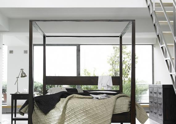 Modern Four Post Bed Home Design Ideas And Pictures