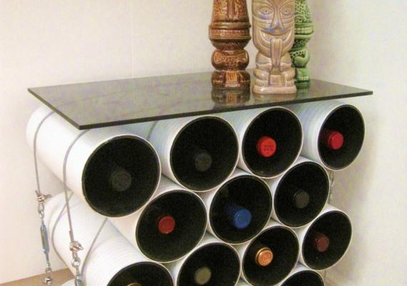 Wine Rack Table Idea For Your Home