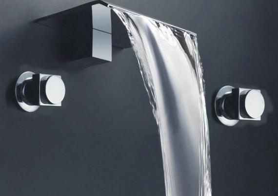 Waterfall Bathroom Faucets For Your Modern Home