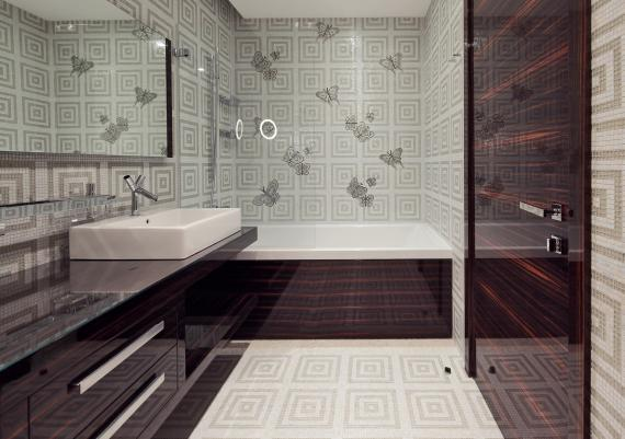 Clean And Modern Luxurious Bathroom Design